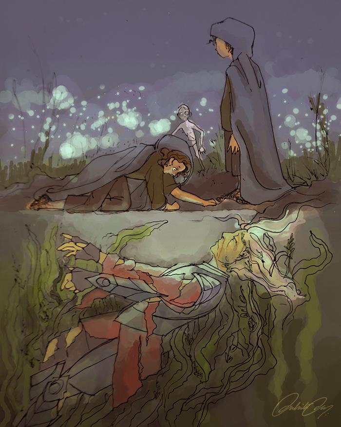 """Dead Marshes"" by Duhi on DeviantArt"