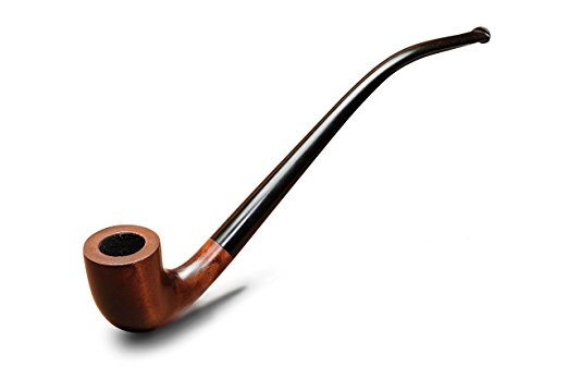 A Long (Gandalf-Style) Pipe - Every dad needs a long pipe of their own, you know, for sitting beside the fire as they ponder philosophy. I bought this one for my husband a few years ago and he's loved it (great quality and good price).