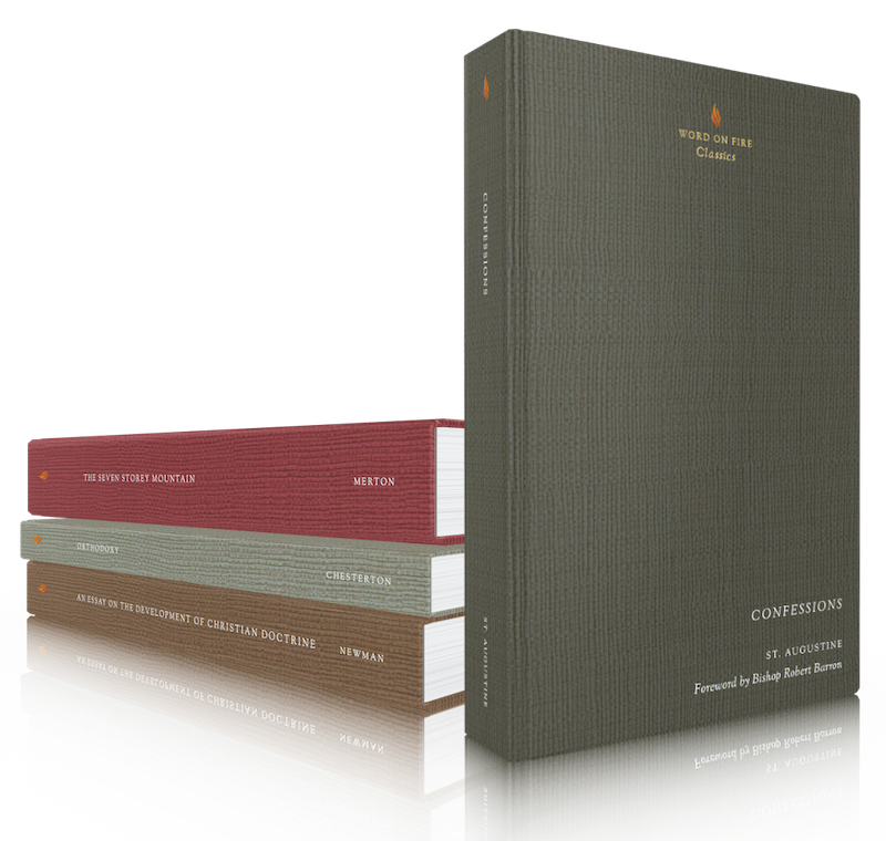 Classics from theWord on Fire Shop - I love these beautiful editions of Catholic classics, as well as nearly everything else from the Word on Fire shop.