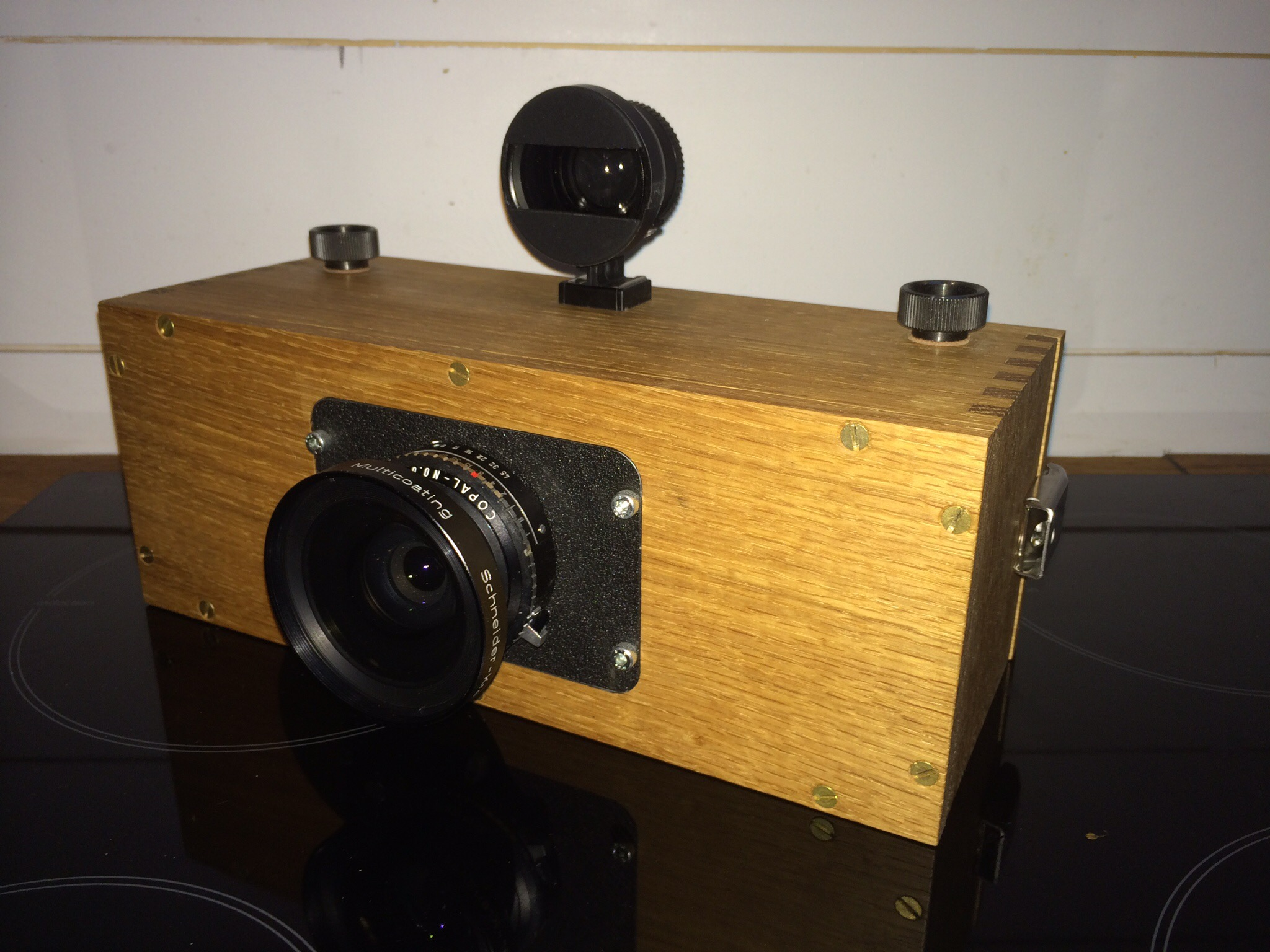 Panoramic film camera. Design and build by GFW.