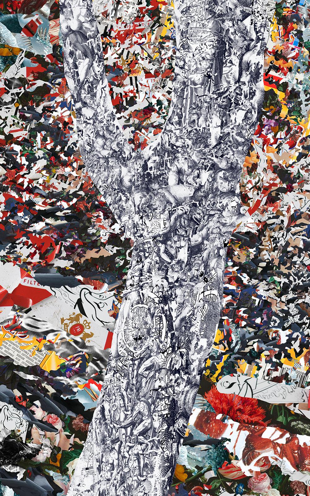 Case Simmons, Simmons & Burke, Cognac XO, Dutchmasters, Kohn Gallery,Pigment Print, Digital Collage,Digital Art, Photoshop Collage, Contemporary Collage, Photoshop Actions, Case Simmons Art, Collage Fine Art, Digital Landscape