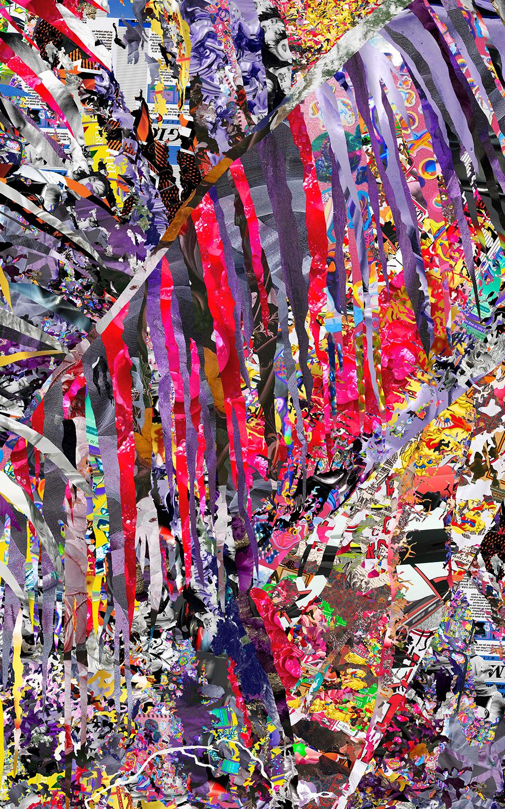 Case Simmons, Simmons & Burke, Tropical Passion, Dutchmasters, Kohn Gallery,Pigment Print, Digital Collage,Digital Art, Photoshop Collage, Contemporary Collage, Photoshop Actions, Case Simmons Art, Collage Fine Art, Digital Landscape