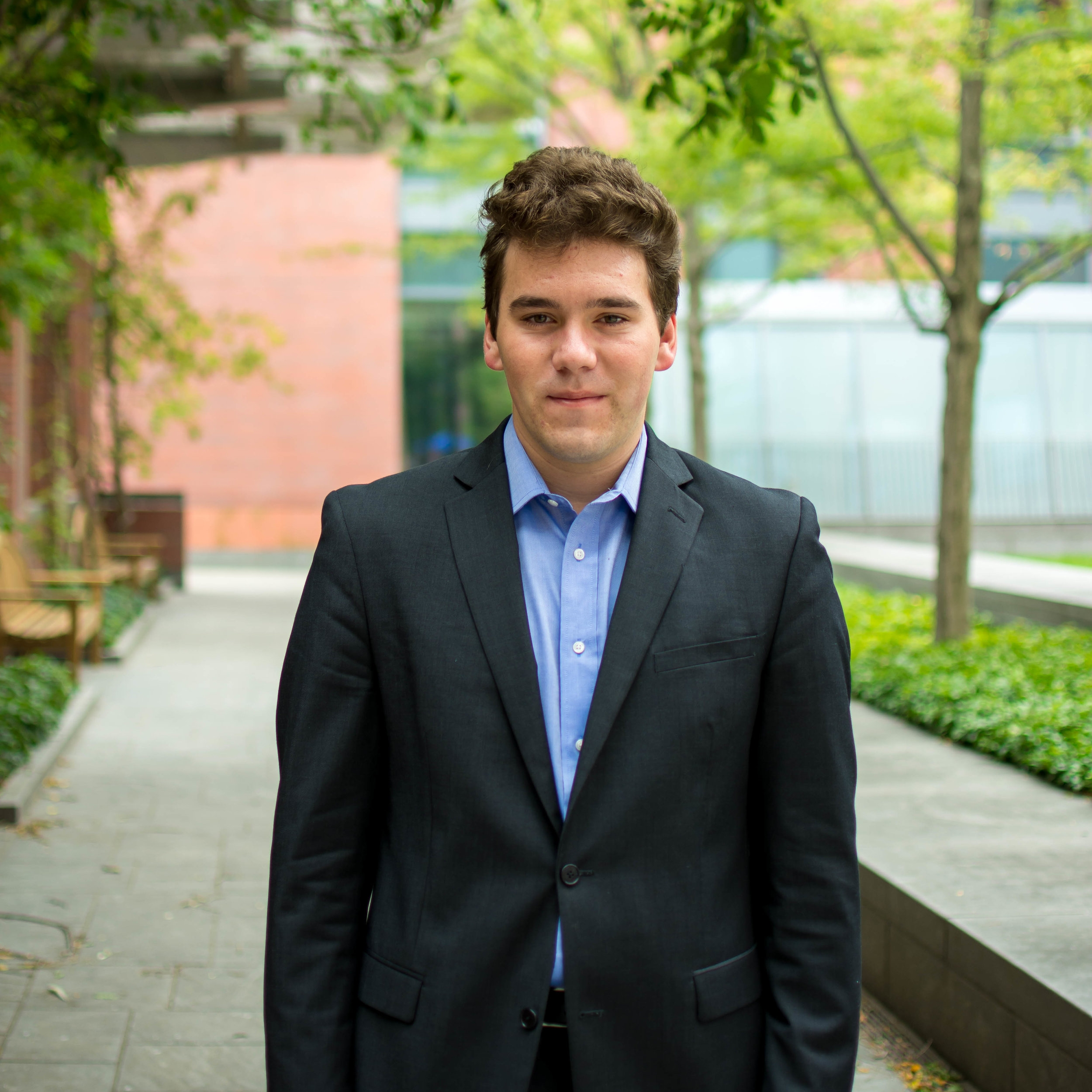 Evan B., Sophomore  University of Pennsylvania  Finance/Public Policy
