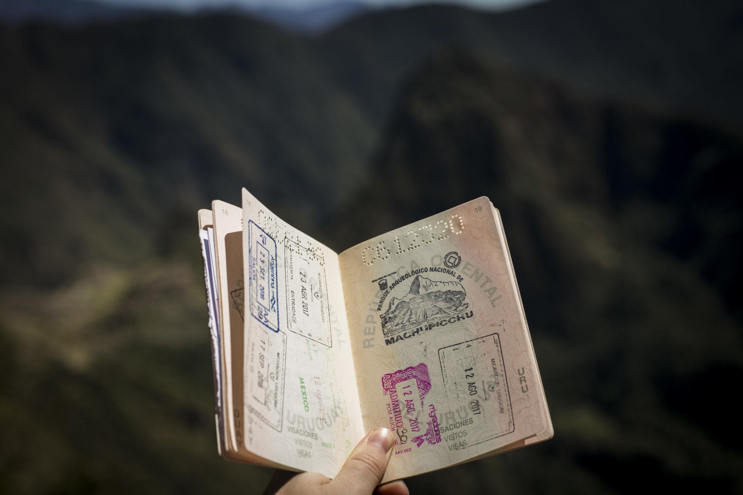 Visa information -