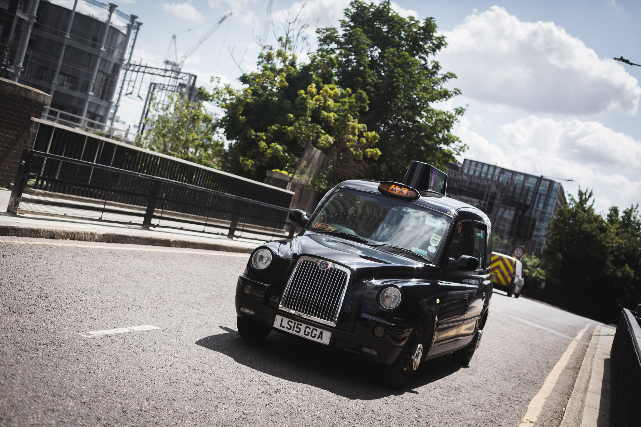 London's iconic cabs are an ubiquitous sight around the city.