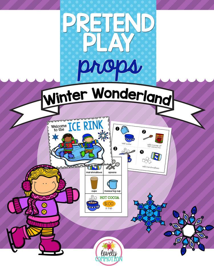 Winter Wonderland Pretend Play Unit