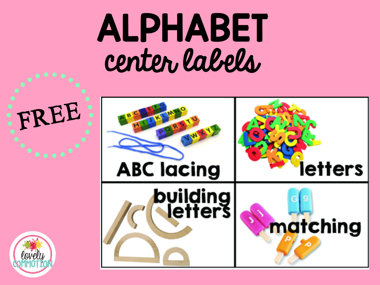 Alphabet Center in Preschool