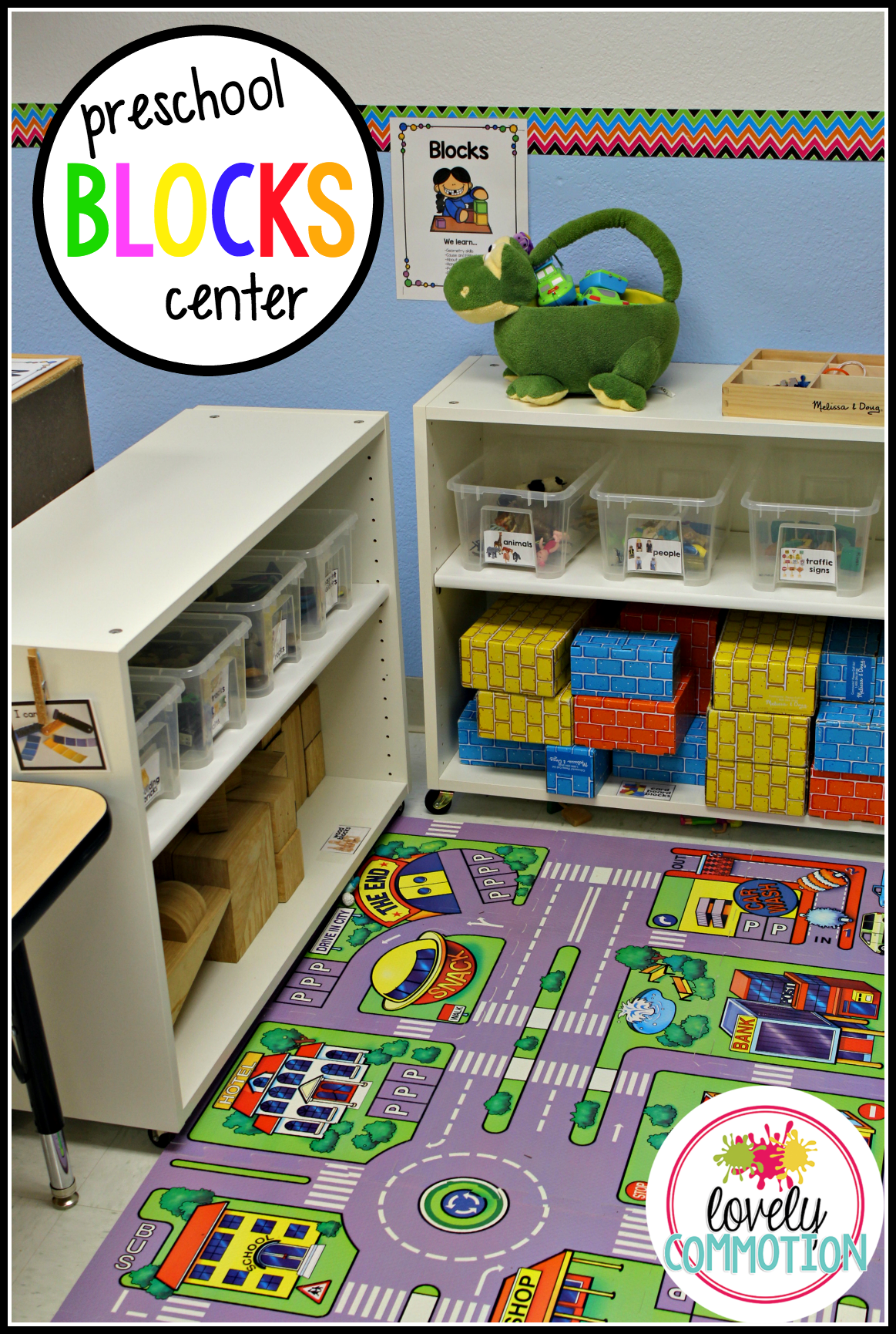 Preschool Blocks Center