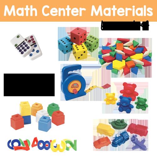 Math Center Preschool