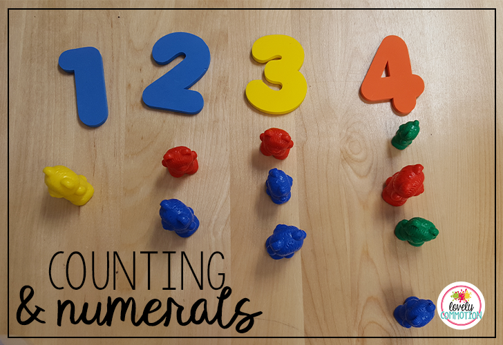 Help students recognize numerals and count with 1-1 correspondence with this fun game.