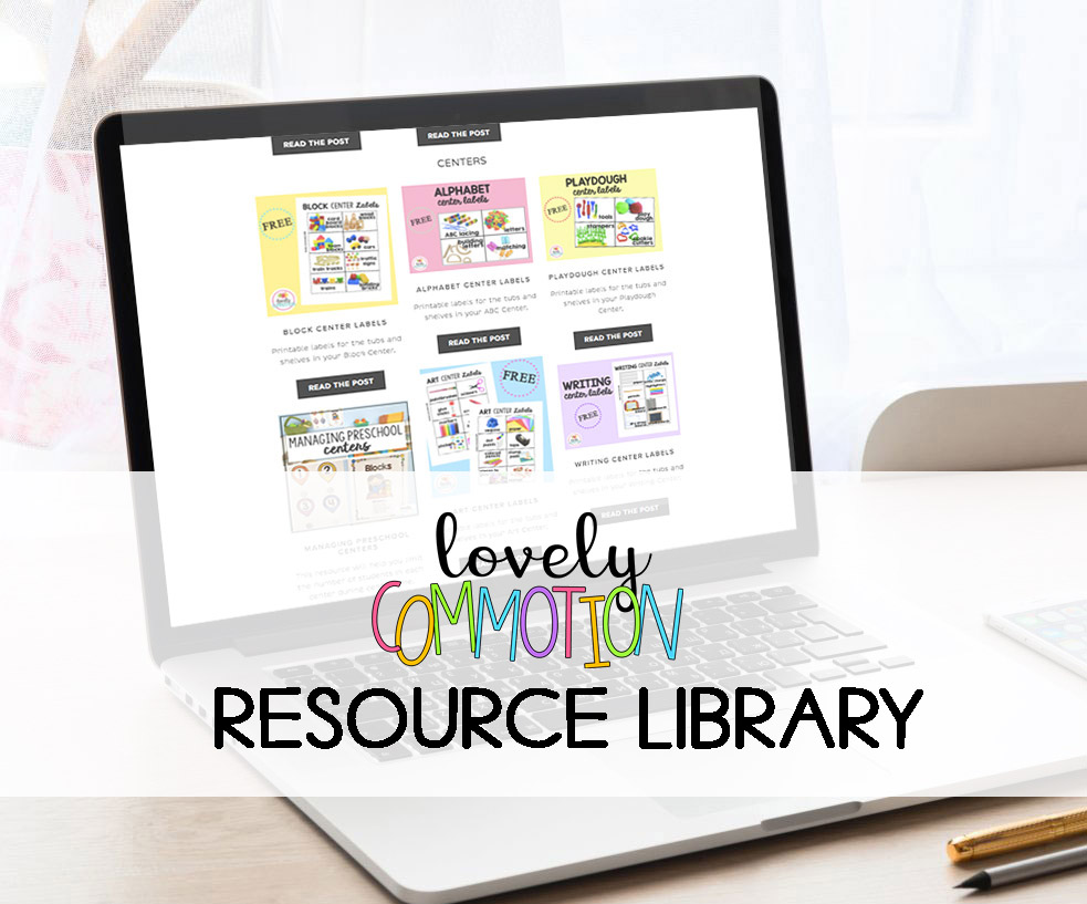 Sign up for the exclusive Free Resource Library- for email subscribers only!