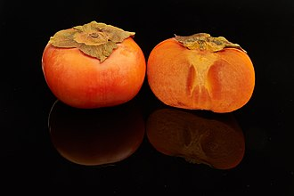 "Fuyu persimmons (not ""Fuyu, persimmons""--see how important punctuation is?)"