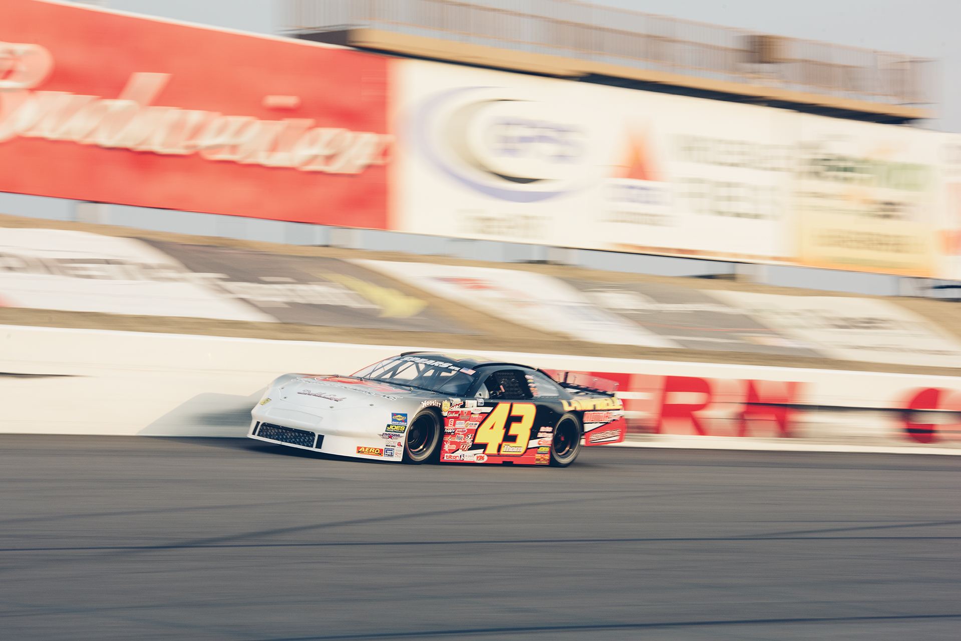 Qualifying at KCRP, Derek Thorn of Lakeport, is a NASCAR Pro Series West and Southwest Tour champion.
