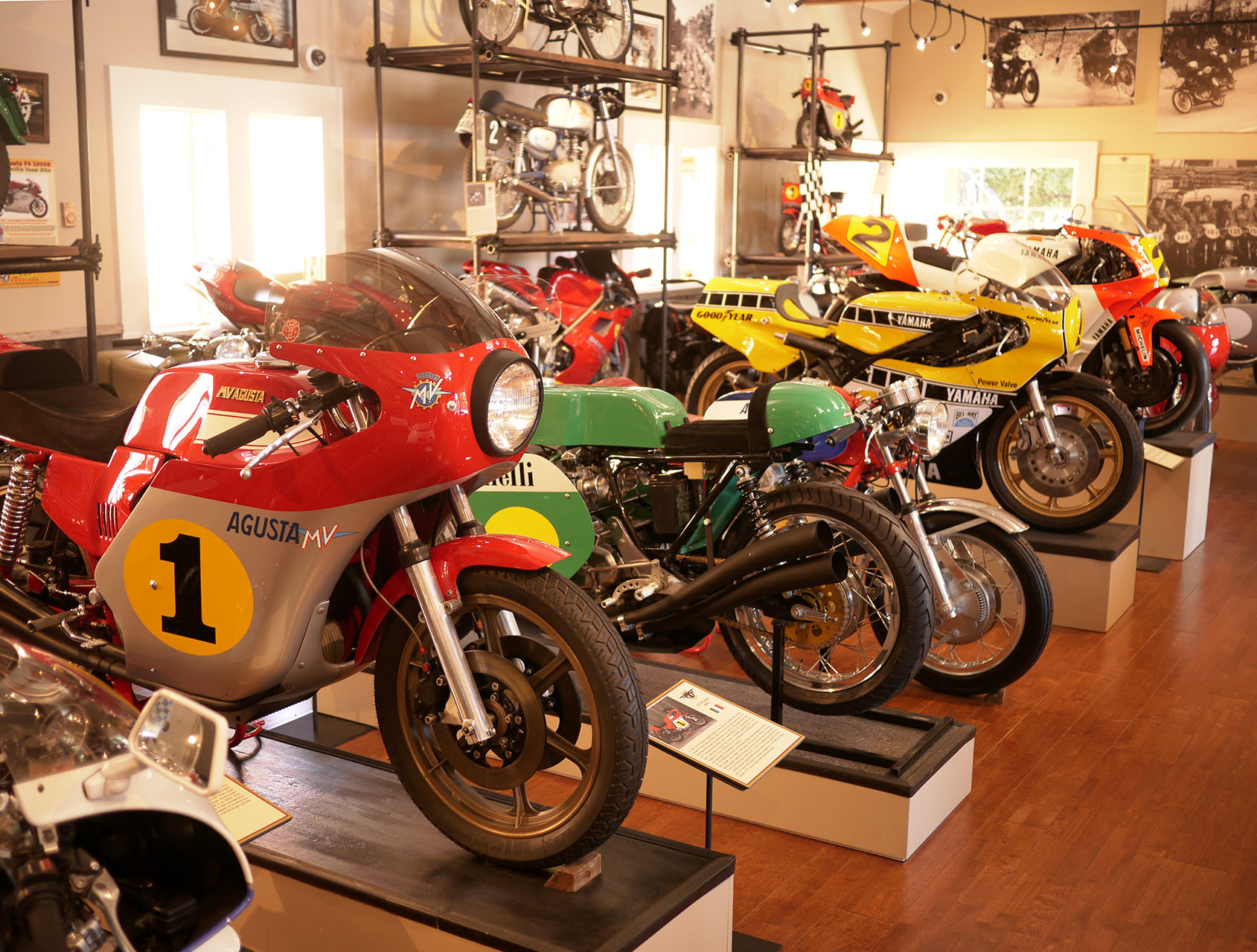 A sea of dreams including two world championship winning machines