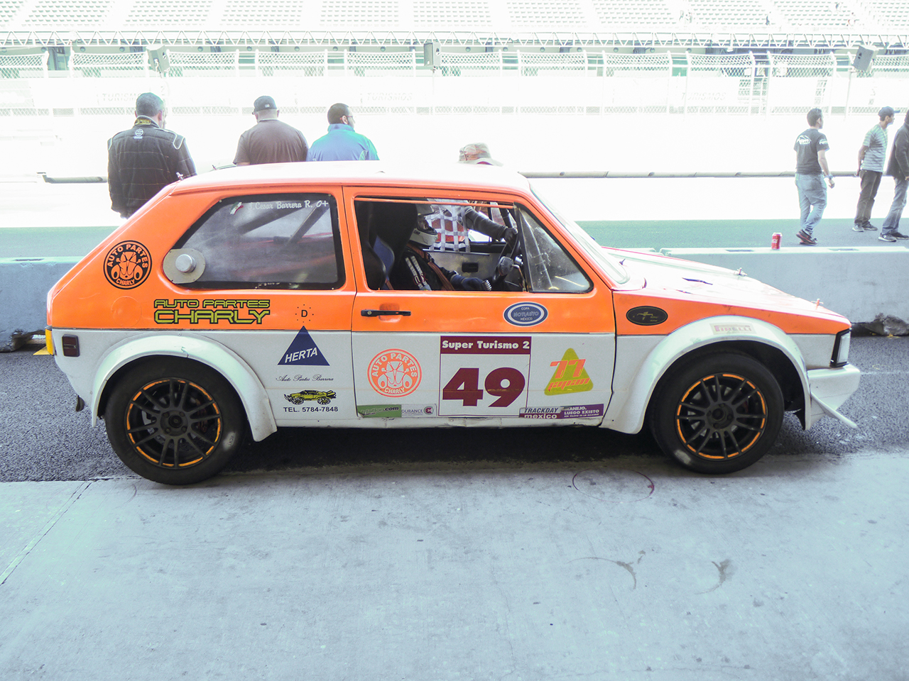 Super Touring Rabbit. This type of racing can be done on the cheap if you have dedication.