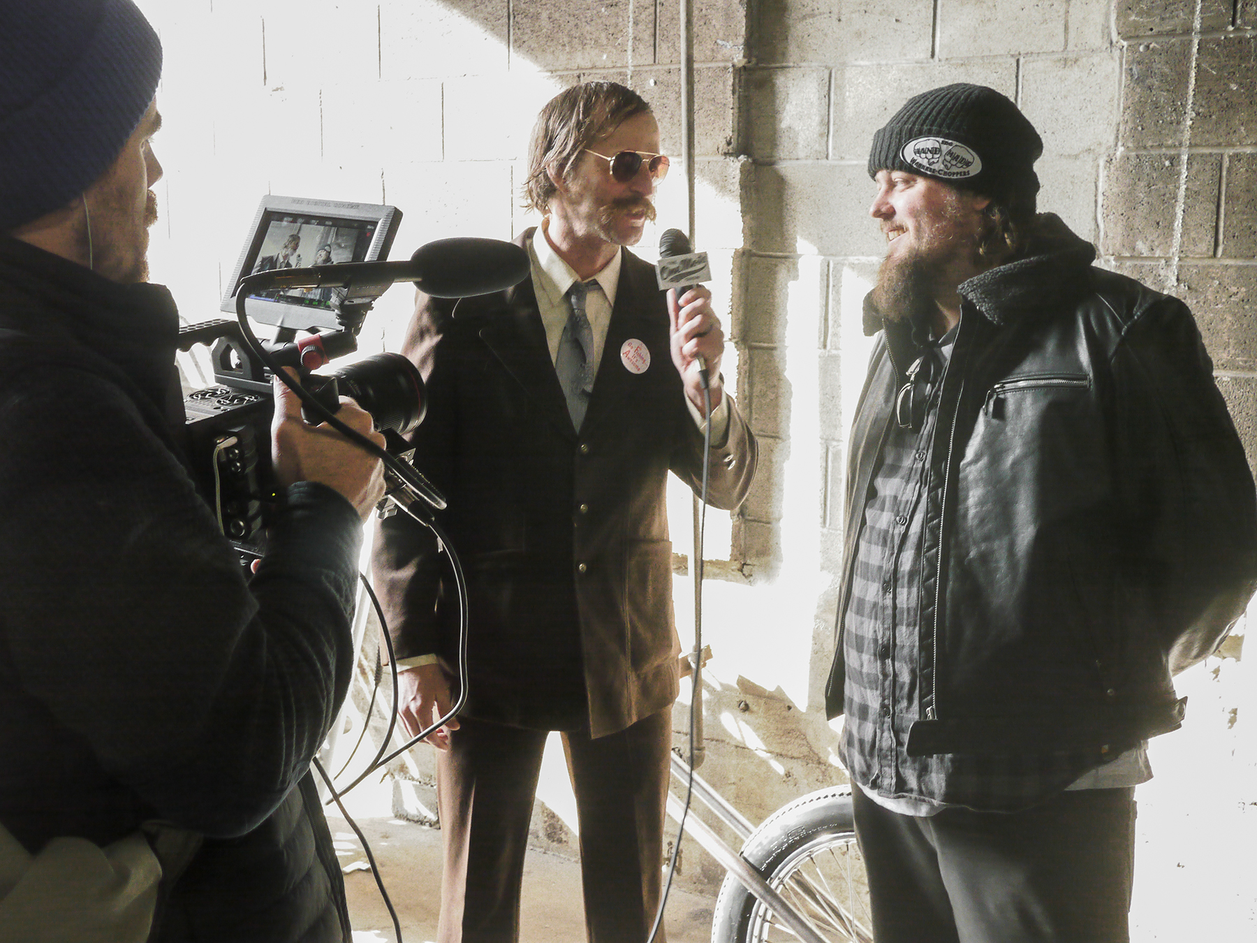 Thor Drake, the man behind One Moto, interviews De Haas for One Moto TV.