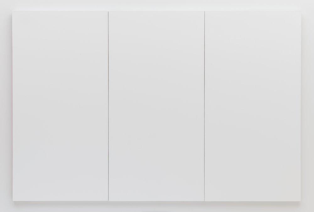 Robert Rauschenberg's  White Painting