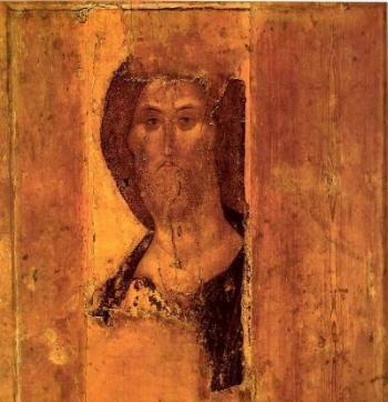 Christ Pantocrator. Andrei Rublev.