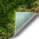 DURAFLO BACKING  The DuraFlo all polyolefin backing system is 100% recyclable and up to 50% more permeable than perforated urethane backed products.