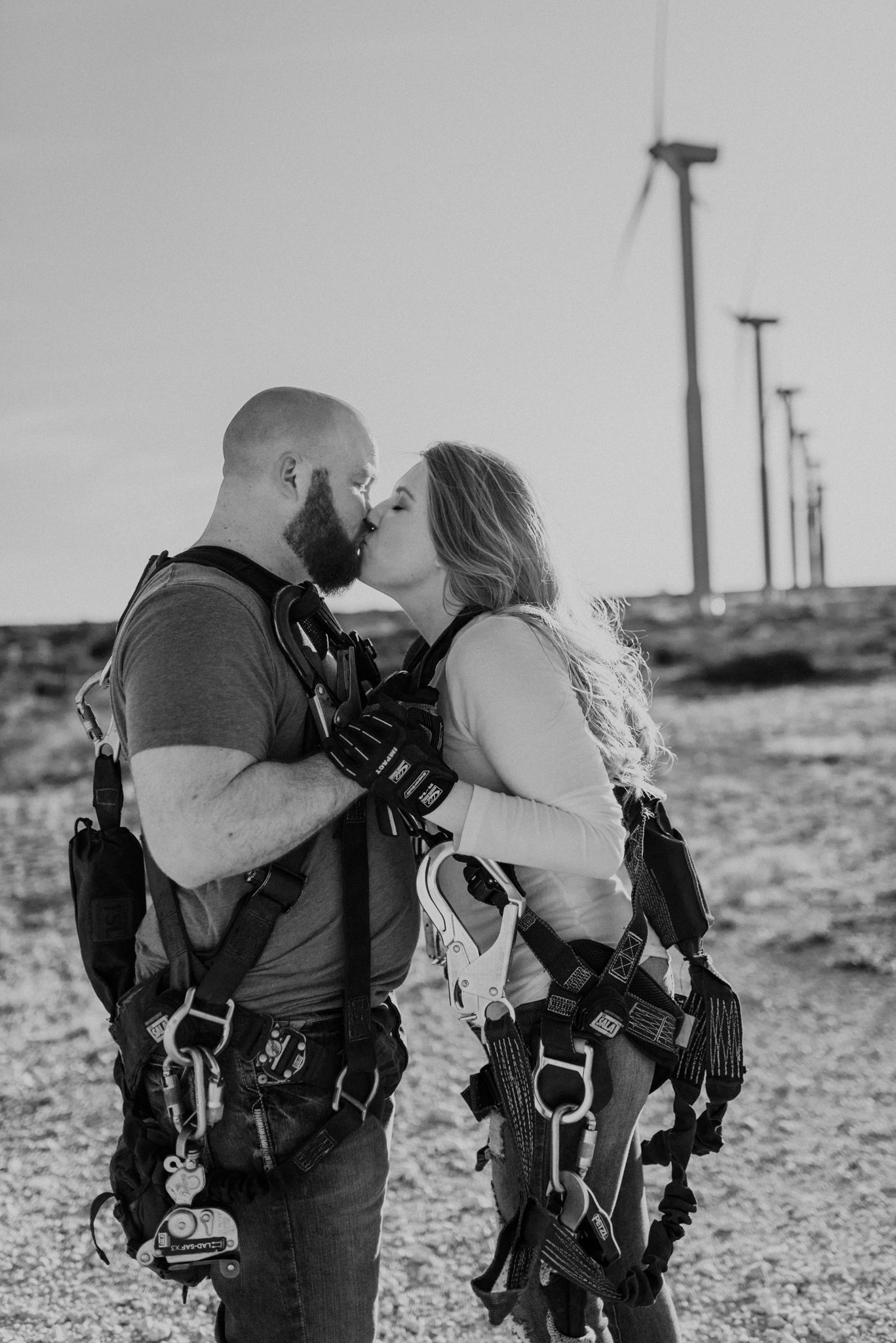 Engagement session in midland texas