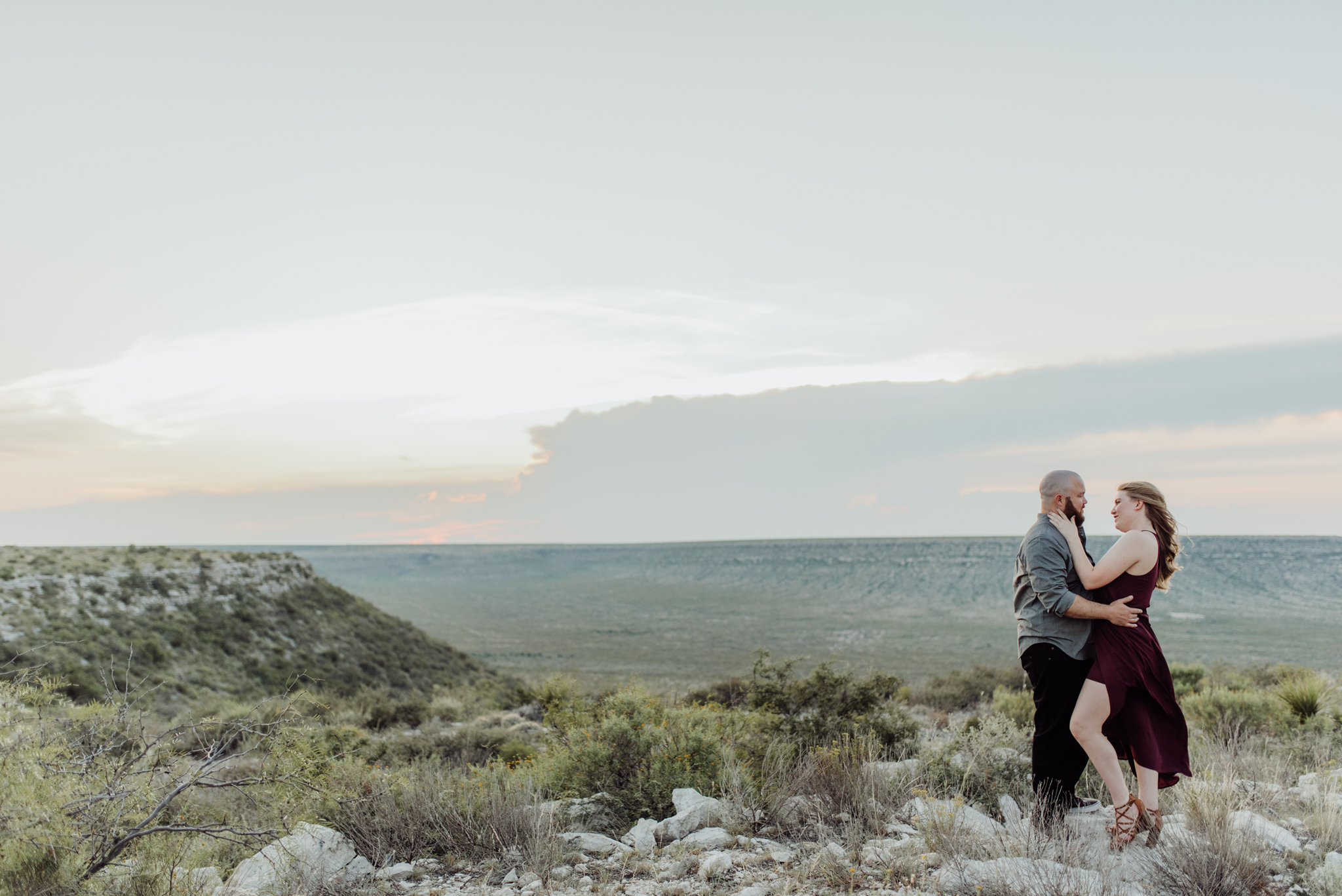 west texas engagement photographer