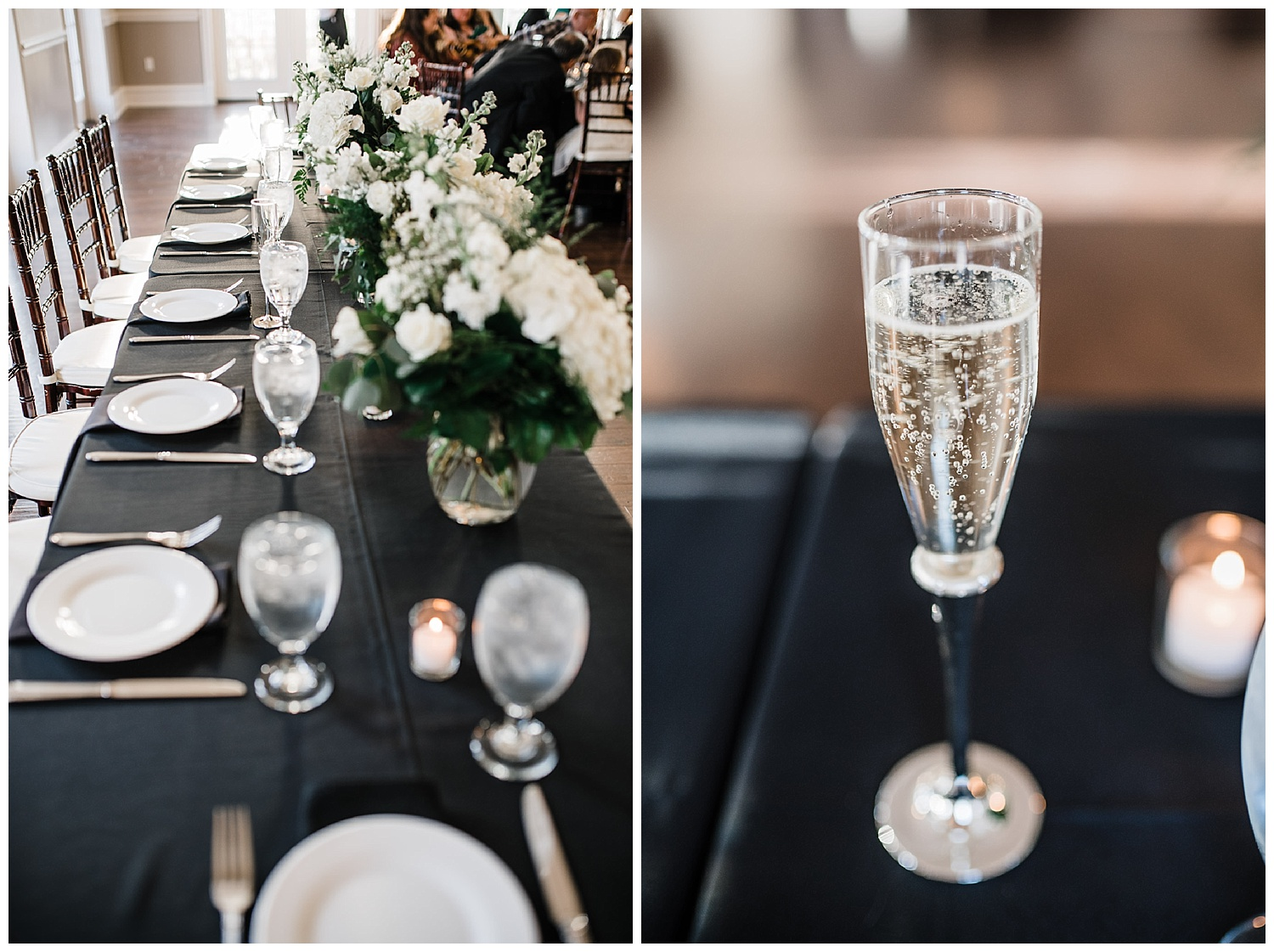 Main table for bride and groom