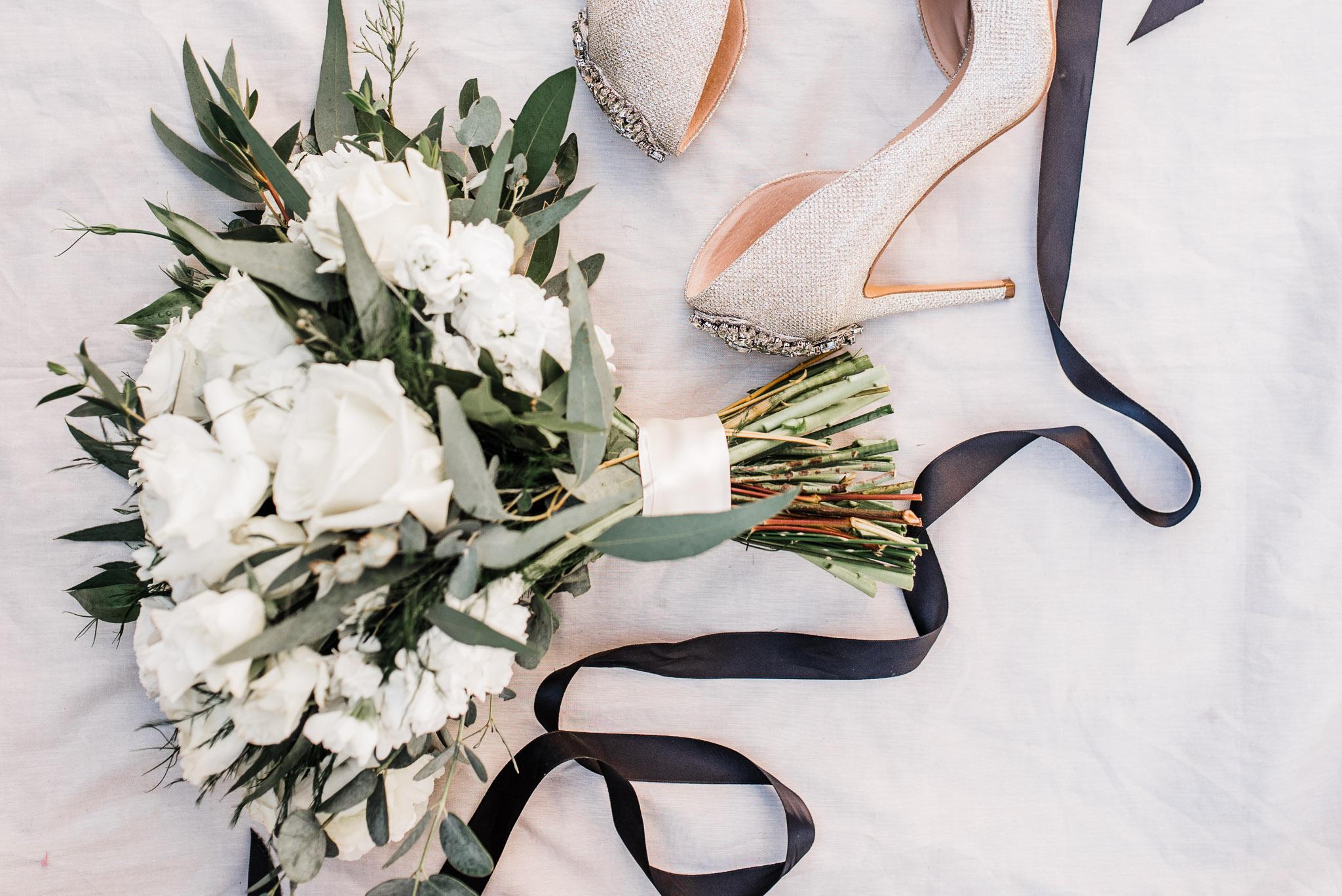 Wedding details captured for bride
