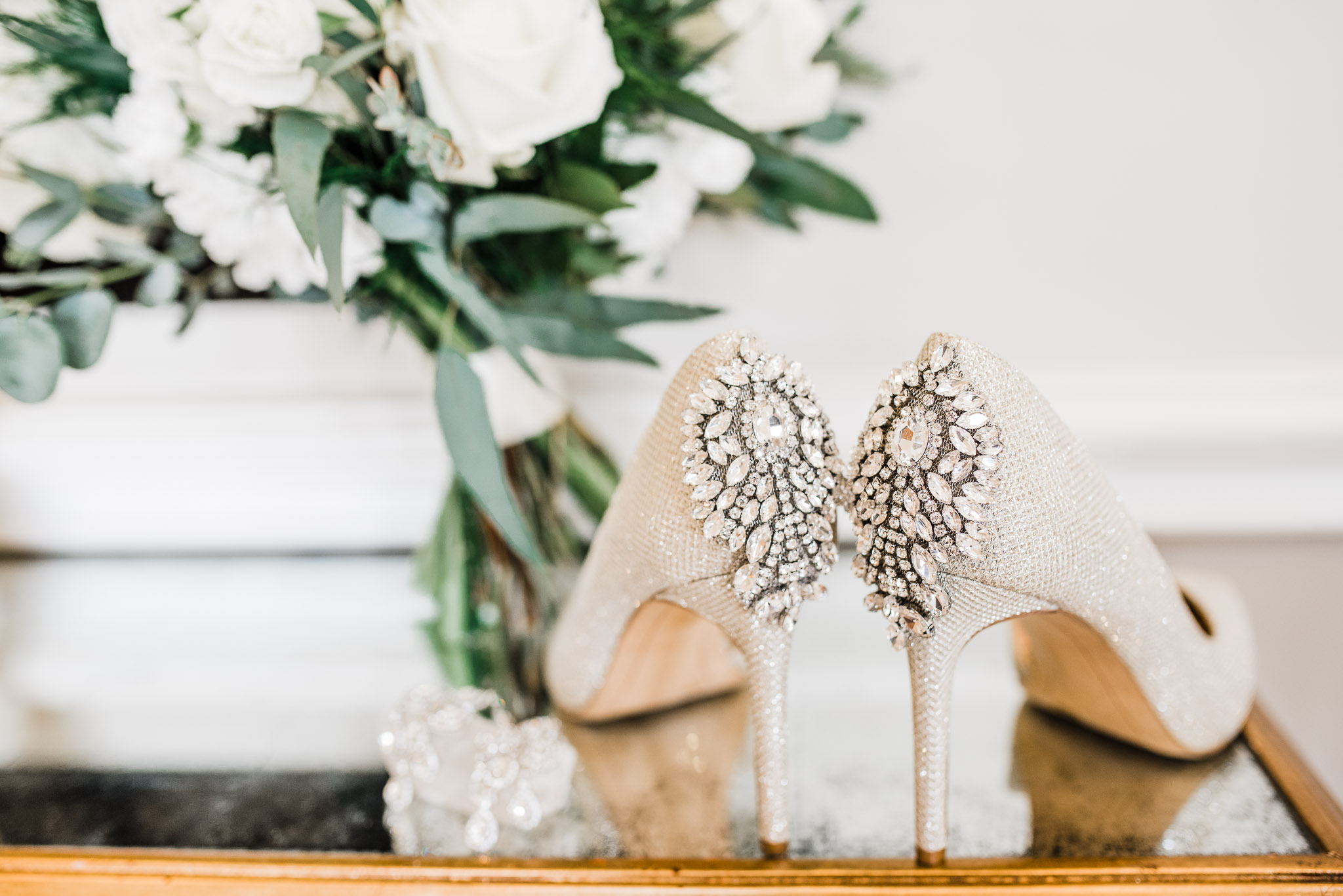 Blingy Shoes perfect for wedding days
