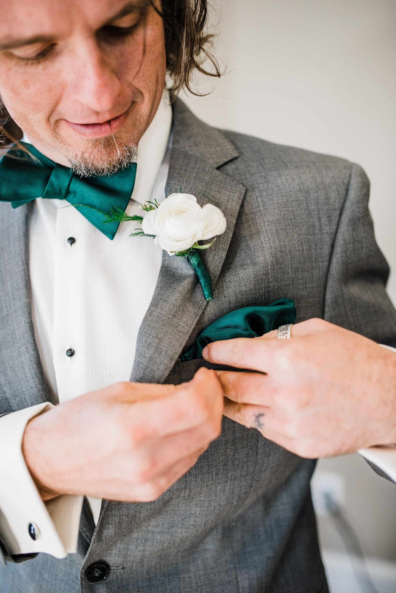 Groom inpiration wedding details