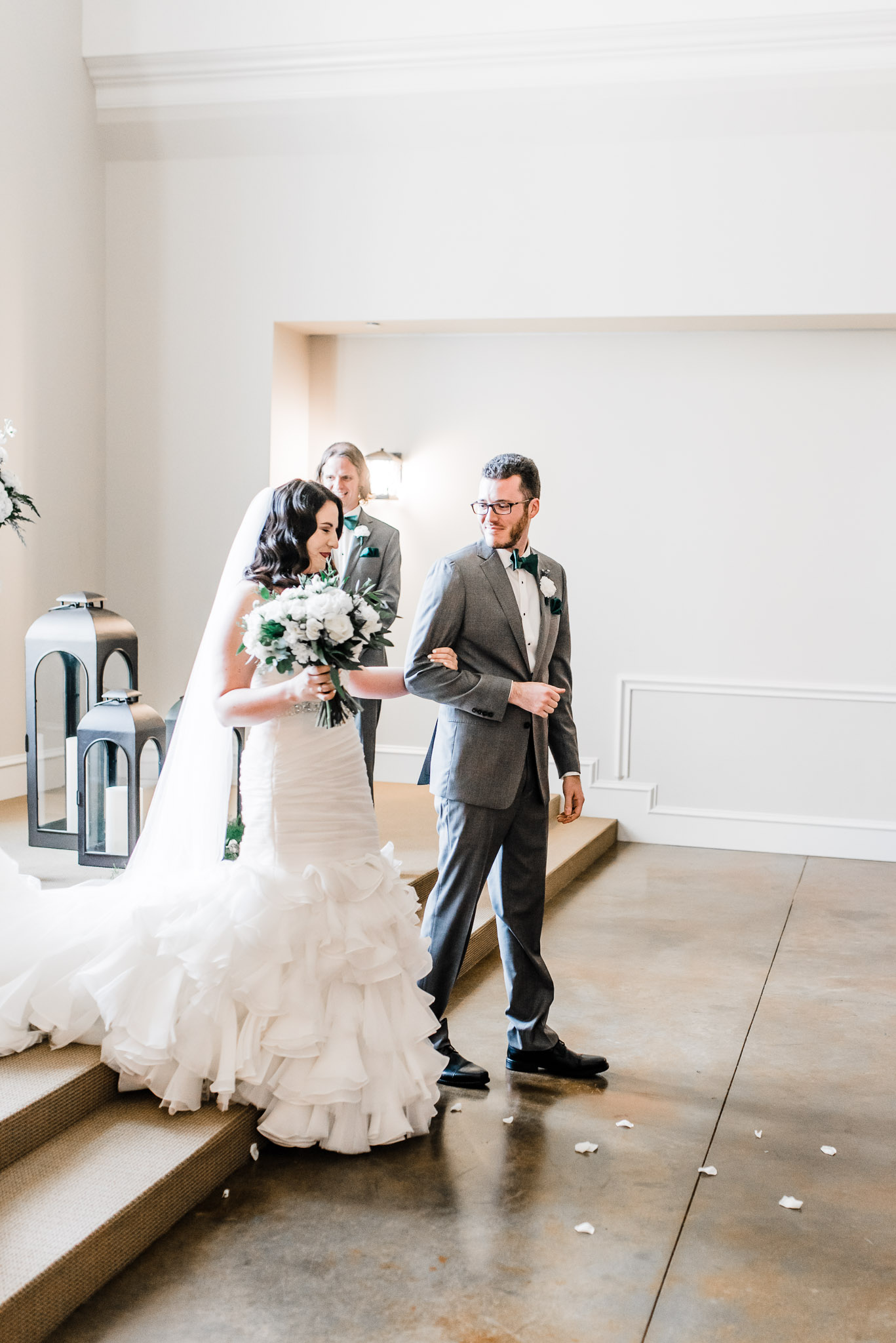Bride and groom recognized as finally married