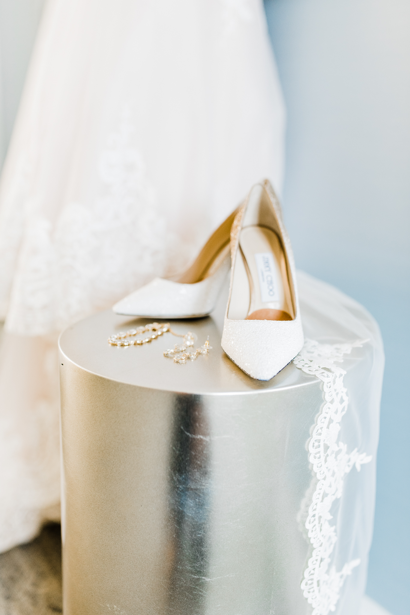Jimmy choo Bridal Heels