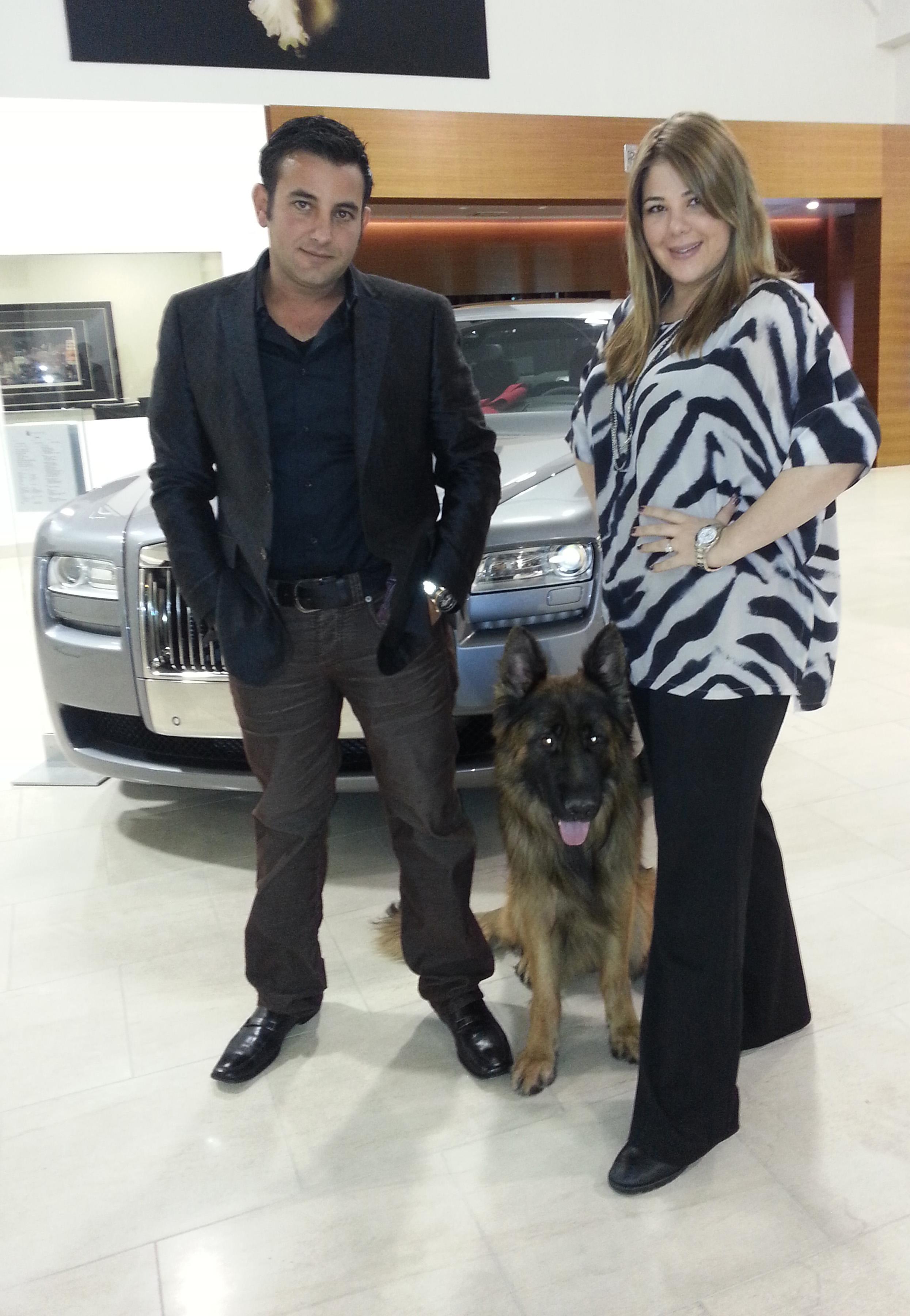 Roni & Jessica Towbin with Leo