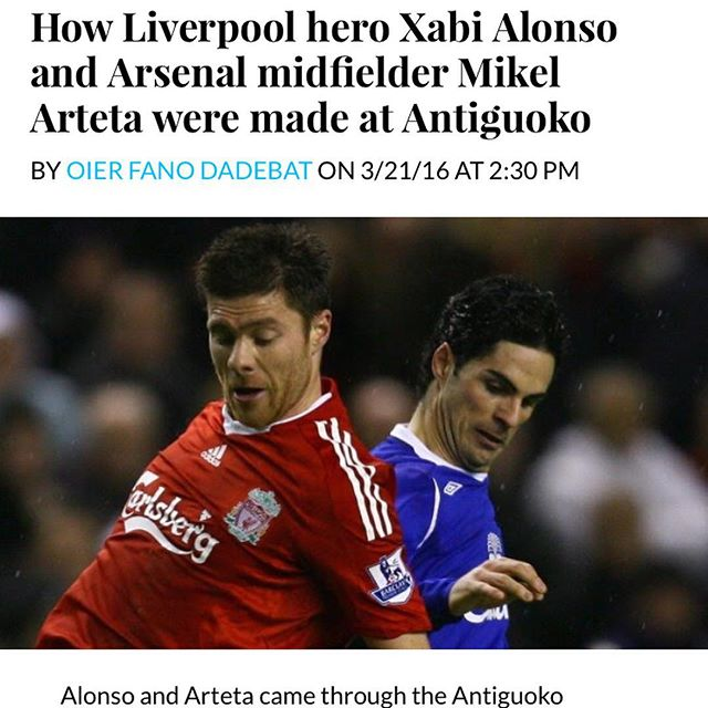 "Fantastic article on @antiguoko_ke. @europeansoccersolutions is so proud to be partnered with this unbelievable club. The article states ""Antiguoko KE, Spanish youth football's best kept secret."""
