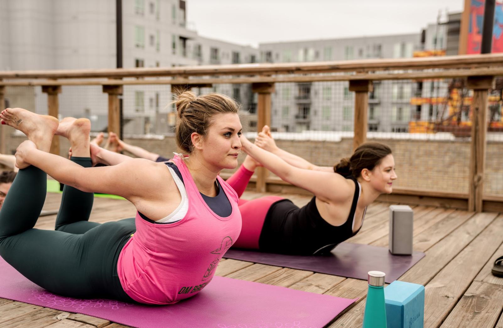 Yoga and Drinks
