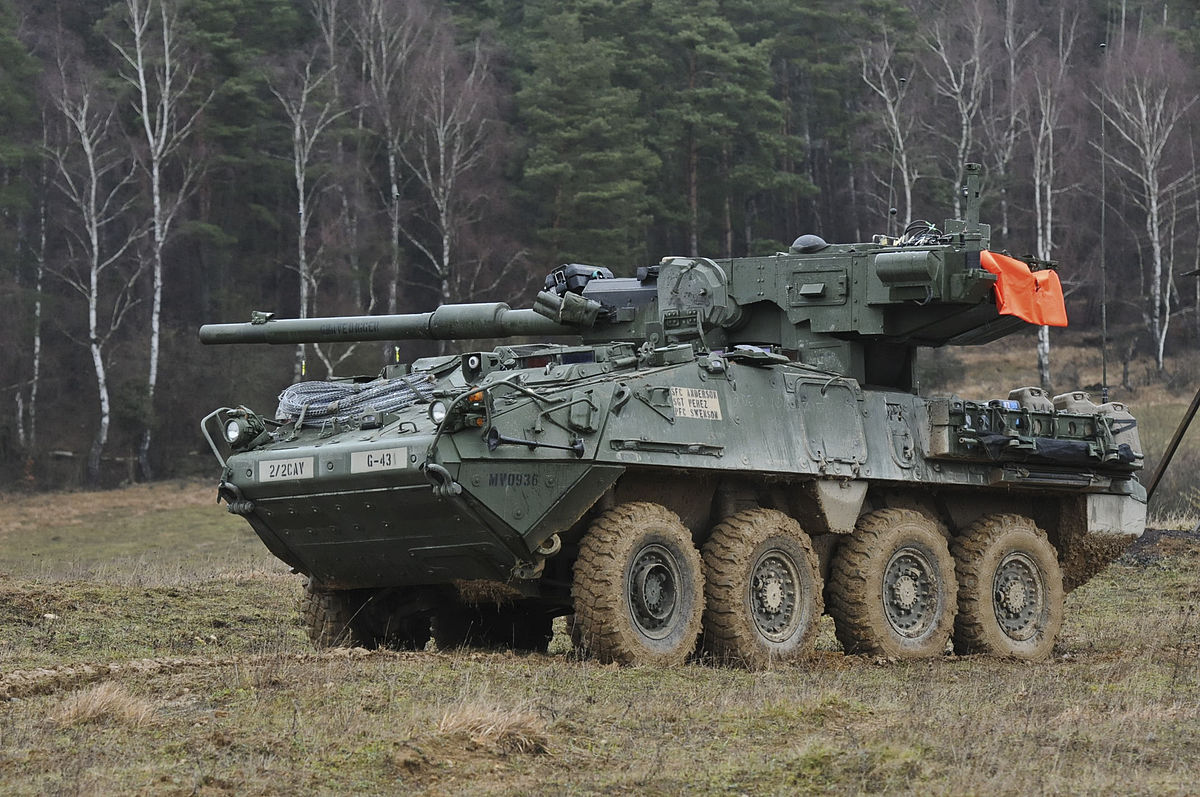 Reference  - Stryker M1128 Mobile Gun System
