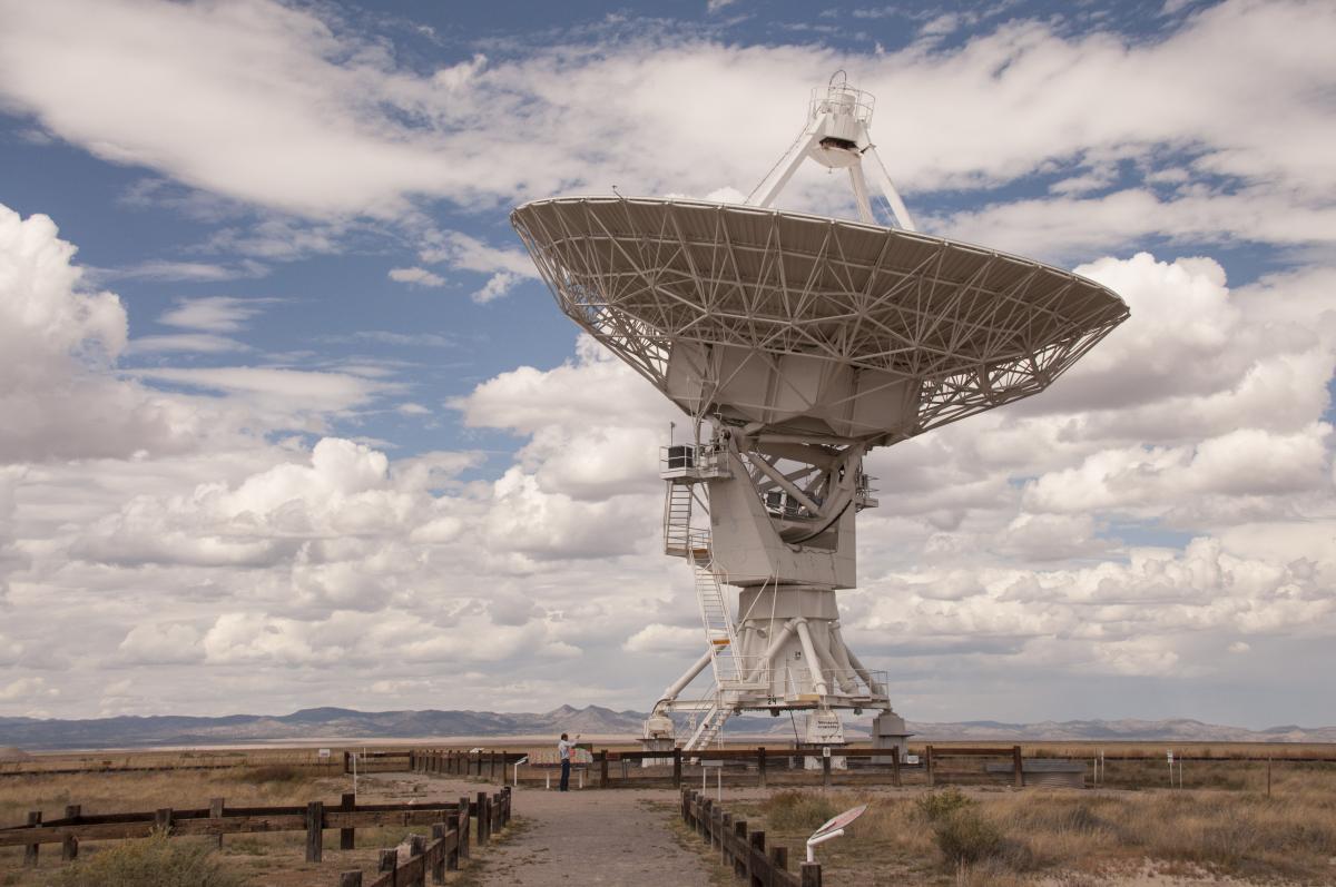 Reference  - Very Large Array (VLA) Telescopes - Socorro, New Mexico