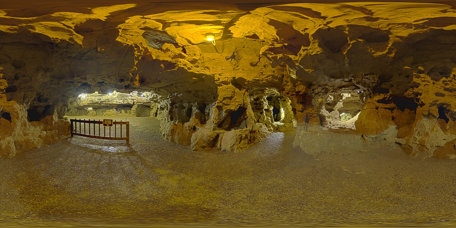 An example of a Skybox to be used in game, this is a full 360 view of the wedding chamber in Crystal Cave.