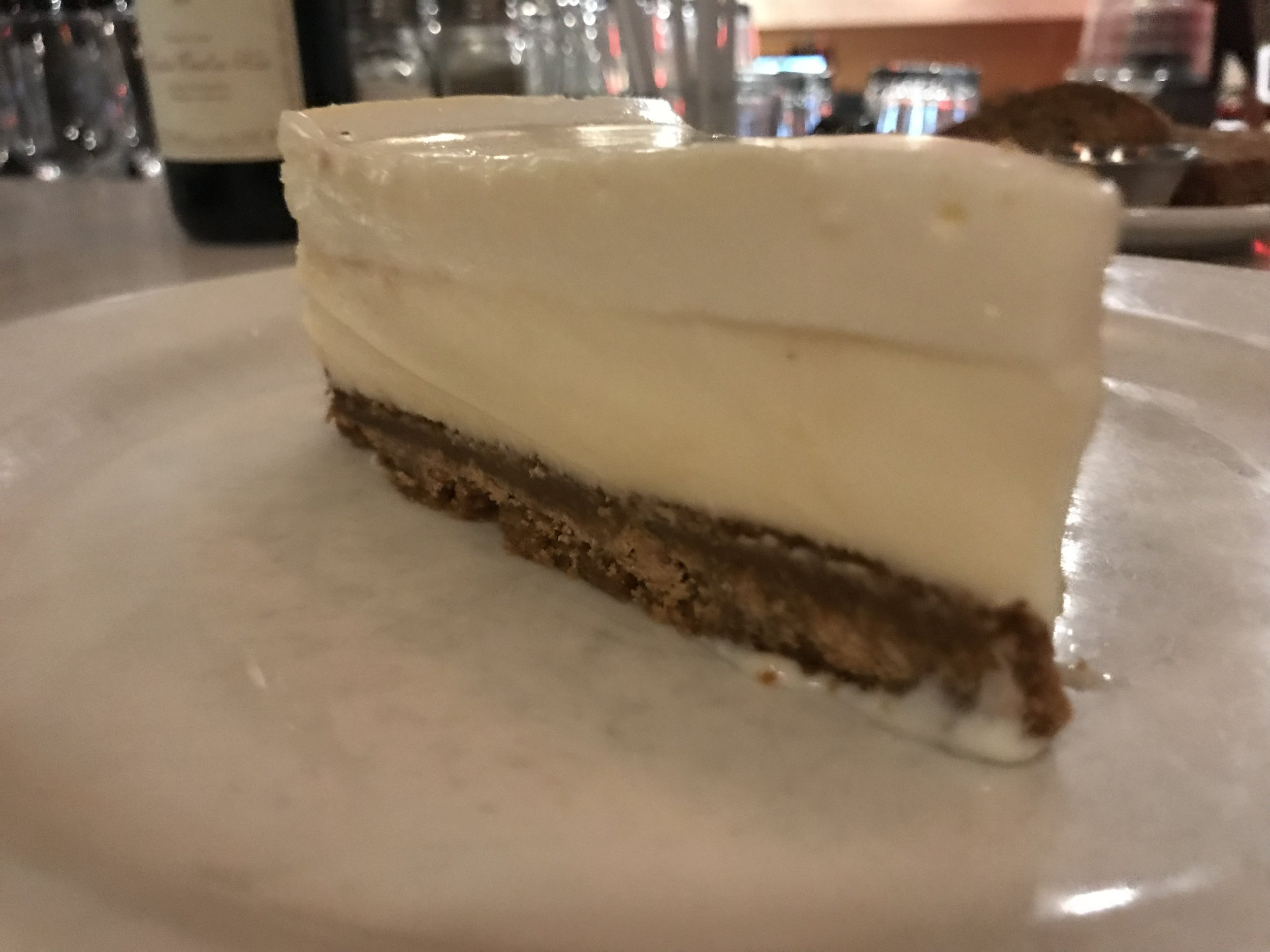 Cheesecake dreams realized.