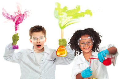 Jr. Scientist - Grab your lab coat and safe googles because you're going to be fascinated with the wonders of scientific discovery. From making elephant toothpaste to lava laps your kiddo will explore endless possibilities in science and will remember this one of a kind Science birthday adventure.