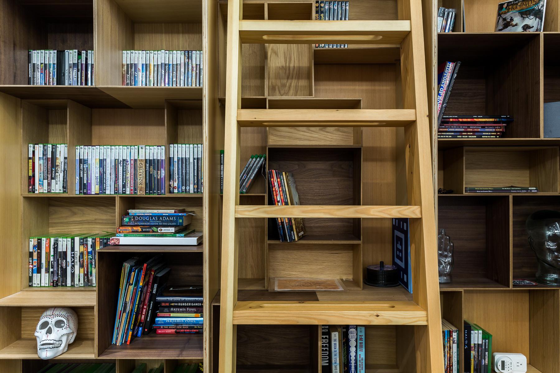 Harka Architecture_Stevens Home Remodel _Bookcase ladder.jpg