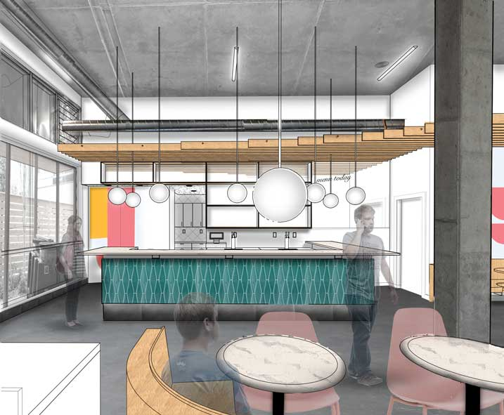 Harka Architecture Bar Diane Perspective