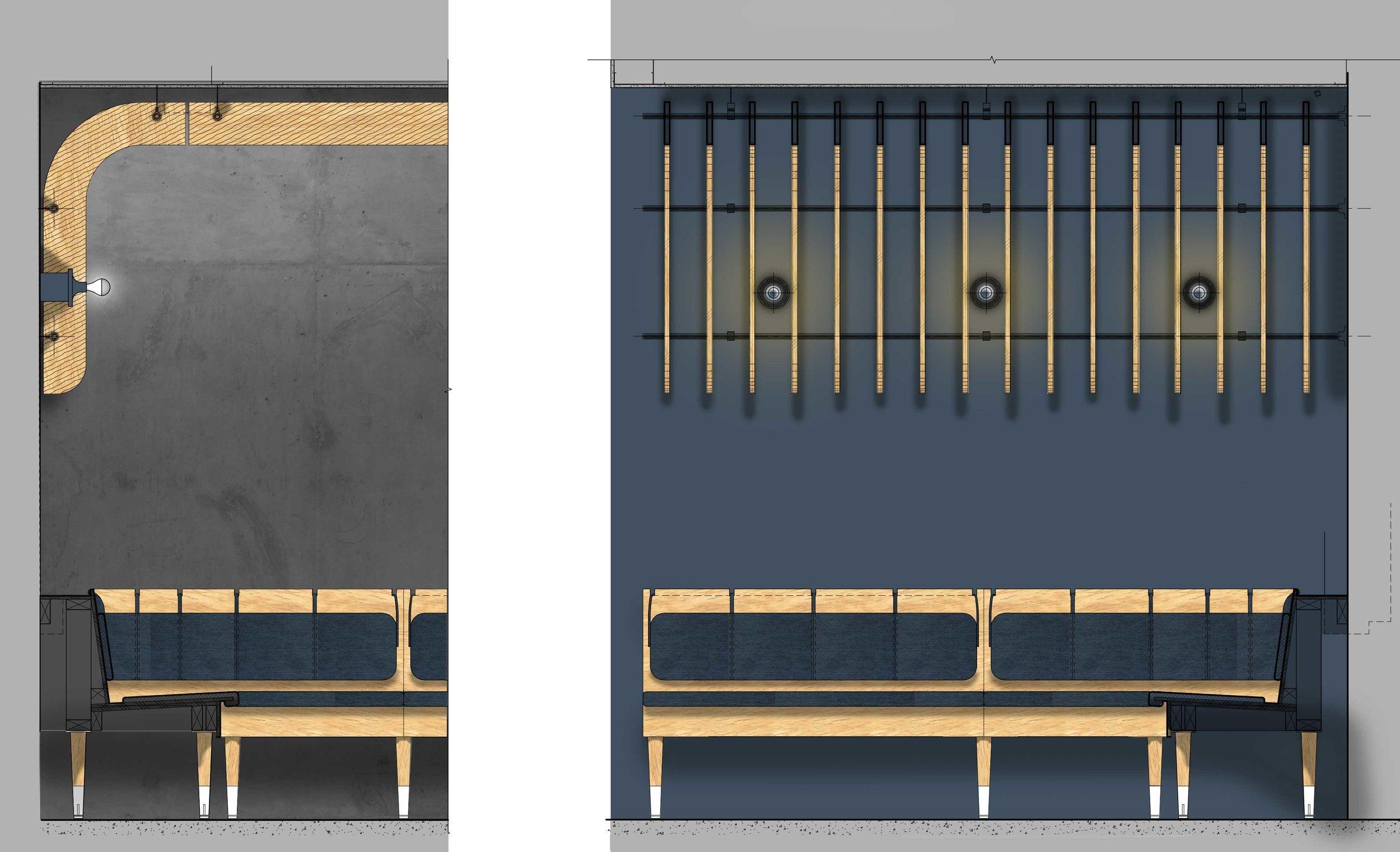 Harka Architecture Bar Diane Banquette