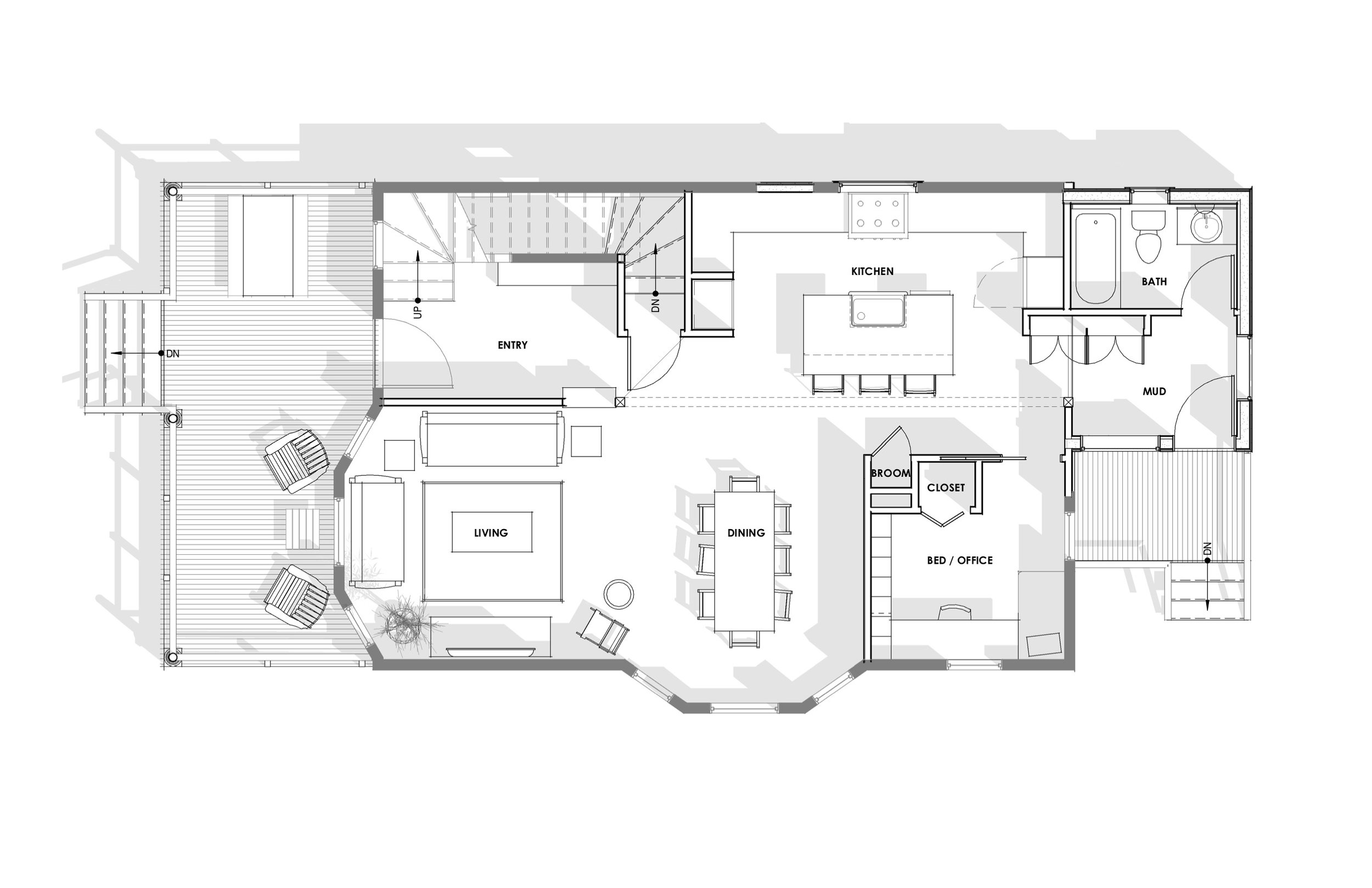 Harka Architecture Eliot Remodel Plan Shadow