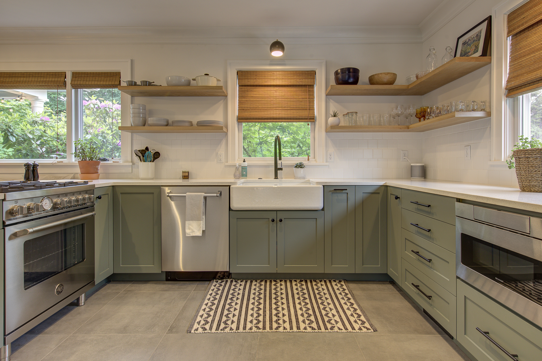 Harka Architecture Rose City Park Kitchen