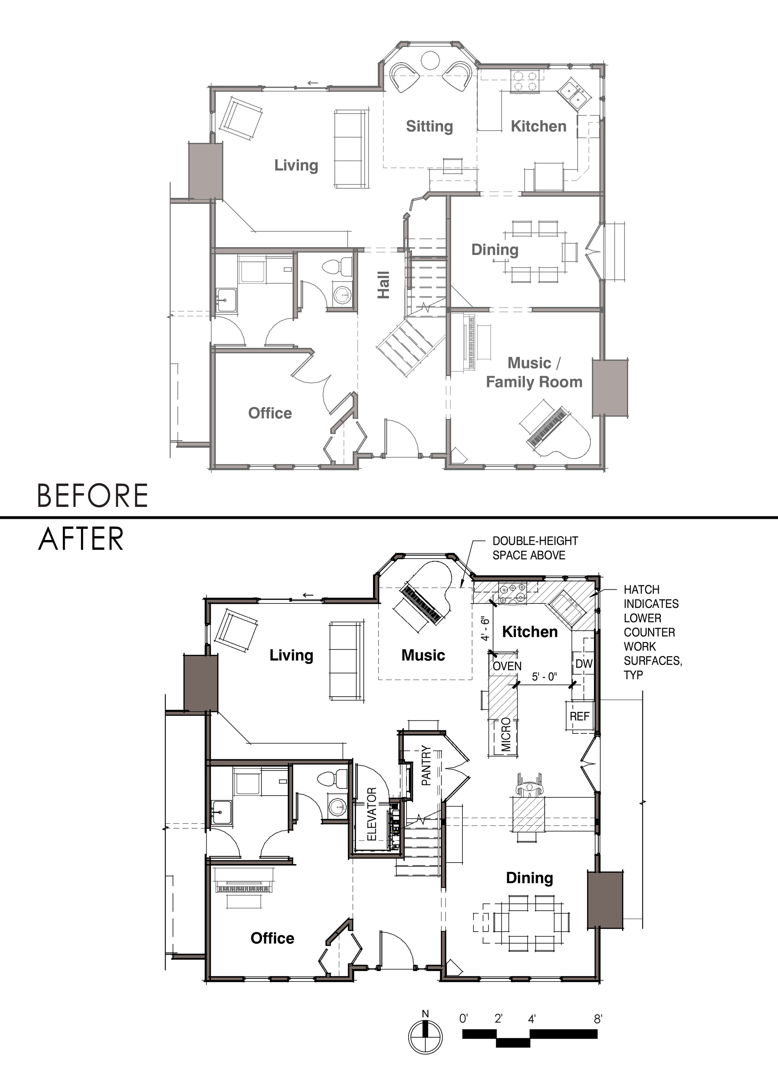Harka Architecture_ADA Remodel_Residential_Wheelchair - Before After Floor Plan.jpg