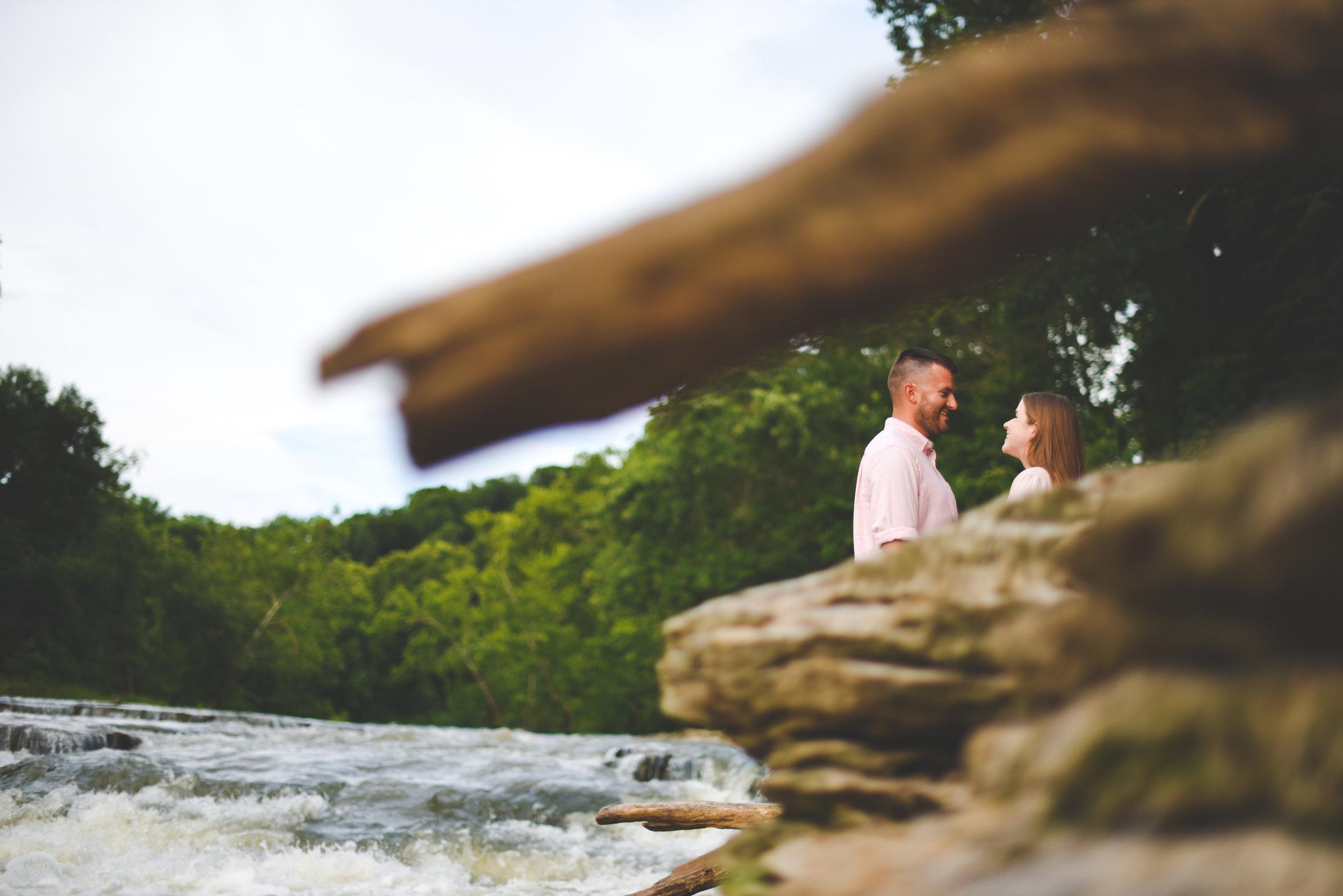 Indianapolis engagement photography - Kendra and Caleb