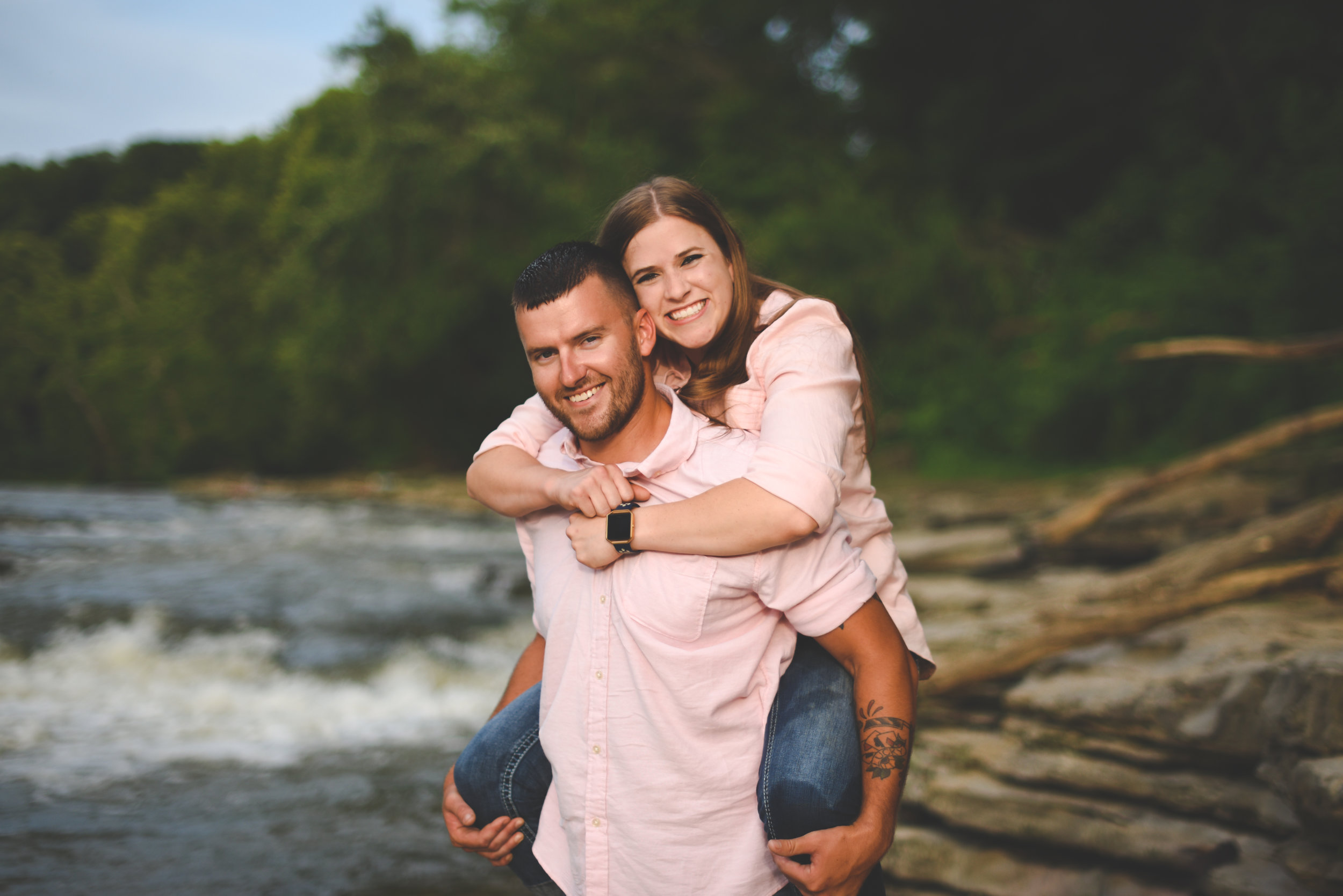 Indianapolis engagement photography - Kendra and Caleb