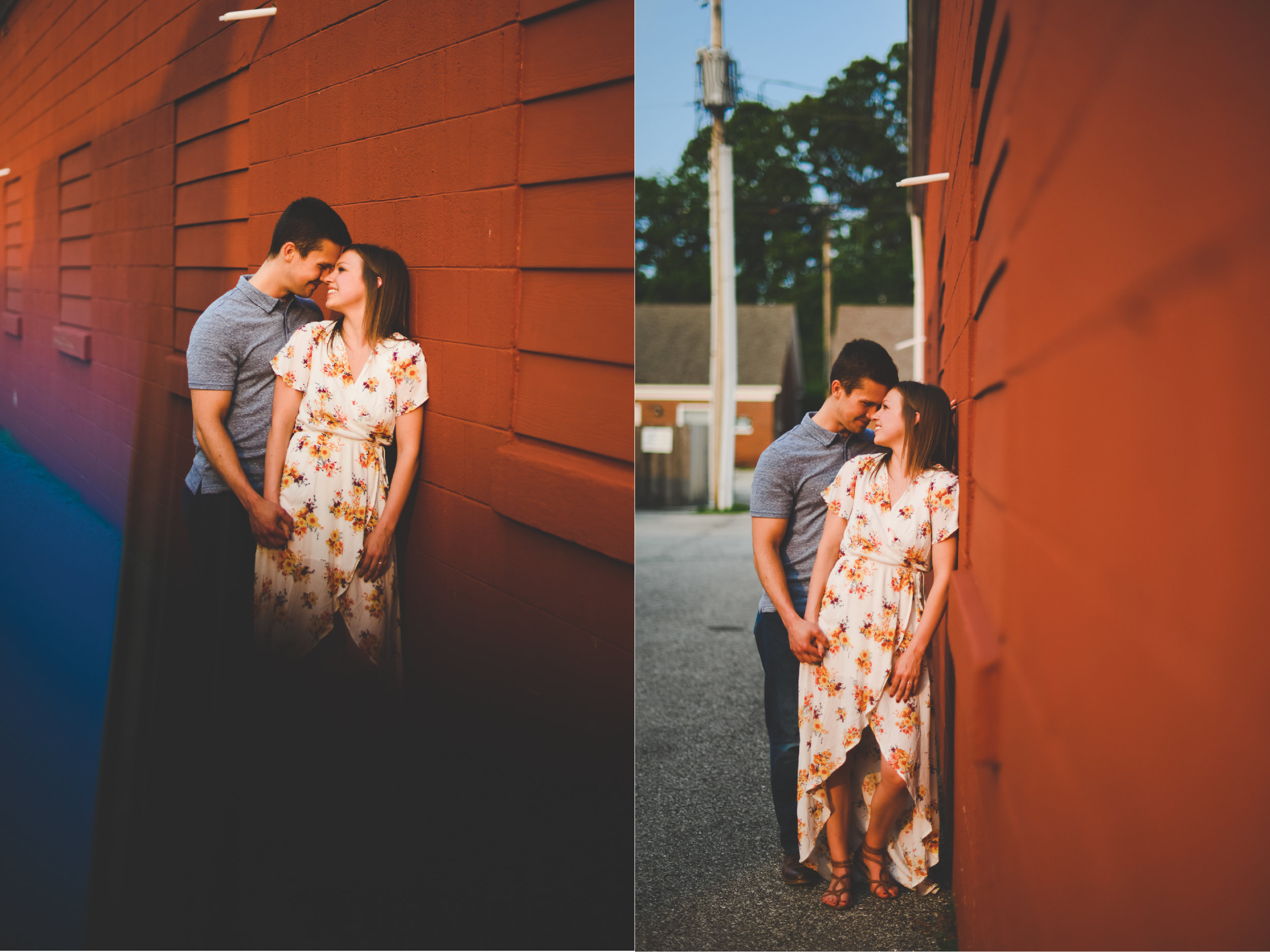 Zionsville engagement photography - Abby and Garrett