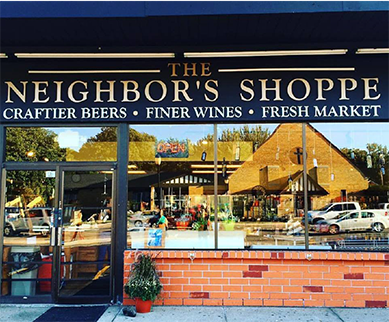 Located in Berkley, The Neighbor's Shoppe is your corner destination for a growing selection of market items, store-made meals, craftier beers and finer wines.  Formerly known as Tweeny's,The Neighbor's Shoppe occupies a location that has been a Berkley fixture for decades. It was reborn in 2015, when it was purchased by Troy and Donna Dirkse,as a local market providing a selection of fresh produce, craftier beers and finer wines. Adding new products daily, we aim to be your quick stop for dinner tonight.