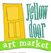 Yellow Door is an ever-changing eclectic art fair that offers goods ranging from... photography, sculpture, wearables, pottery, soaps, candles, paintings, glassware, edibles, books, kids art & more.